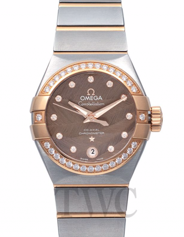 Omega-Constellation-CoAxial-Brown-Dia